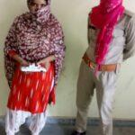 10 ग्राम स्मैक के साथ महिला गिरफ्तार