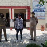 पुलिस ने जिलाबदर युवक को किया गिरफ्तार