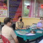 थाना दिवस का आयोजन कुल 6 प्रार्थना पत्र प्राप्त हुए 2 का निस्तारण